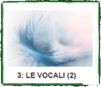 LE VOCALI (2)